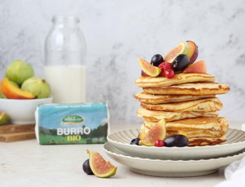 Pancakes alla frutta settembrina