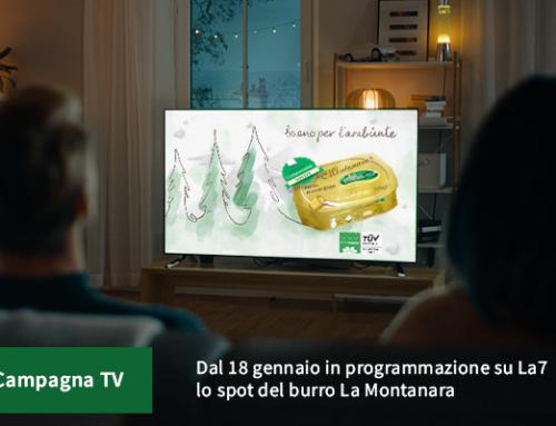 """Arriva su LA7  lo spot """"La Montanara, una scelta di qualità"""""""