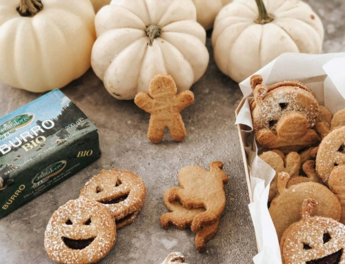 Biscotti di Halloween farciti